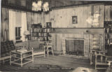 Lounge, Kittell Hall, Southern Normal School, Brewton, Alabama